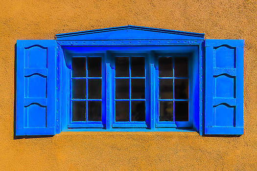 Santa Fe Window by Garry Gay