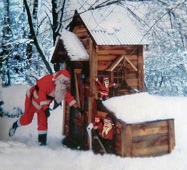 Santa gotta go by Gordon Wendling