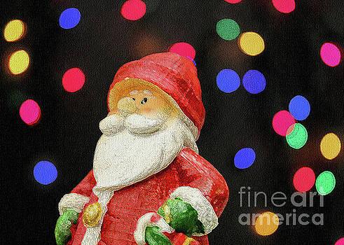 Santa by Linda Joyce