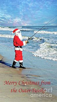 Santa at the Outer Banks by Benanne Stiens