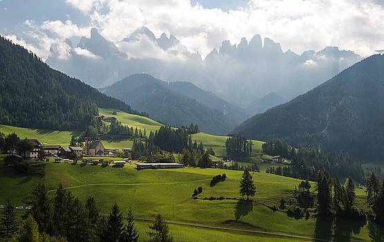 Santa Maddalena - Italy by Wim Slootweg