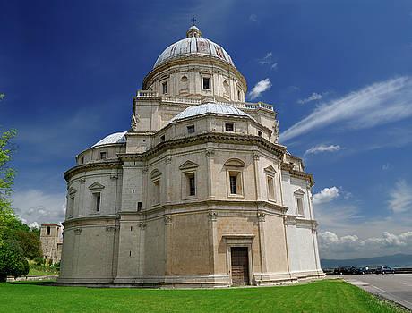 Reimar Gaertner - Santa Maria della Consolazione church in todi Italy