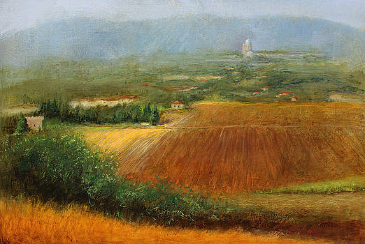 Santa Maria From Assissi by Christy Olsen