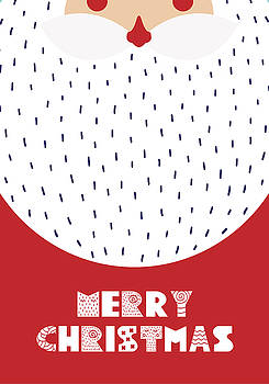 Santa Merry Christmas by Christopher Meade