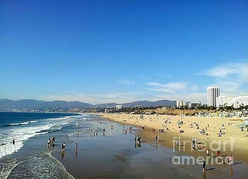 Santa Monica Bay by Madeleine Prochazka