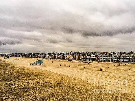 Julian Starks - Santa Monica Beach Cloudy