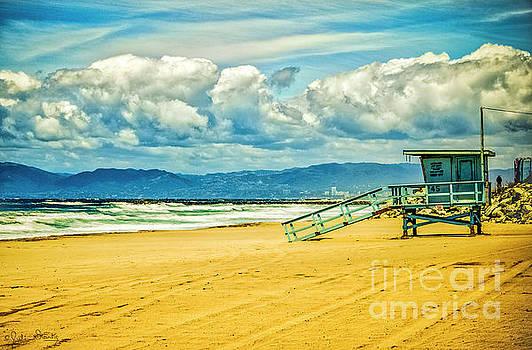 Julian Starks - Santa Monica Beach Happy Morning
