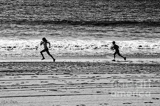 Julian Starks - Santa Monica Beach run