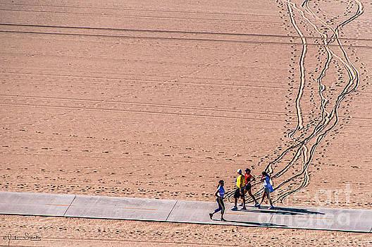 Julian Starks - Santa Monica Beach Sand Runners