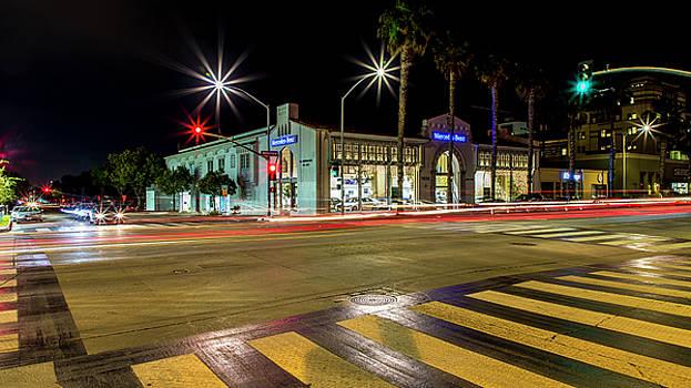 Santa Monica City Lights by Gene Parks