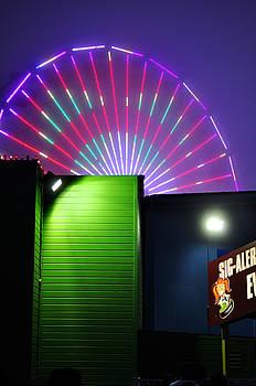 Clayton Bruster - Santa Monica Pier After Dark