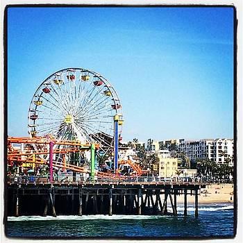 Santa Monica Pier @gbotelho5 by Emily Botelho
