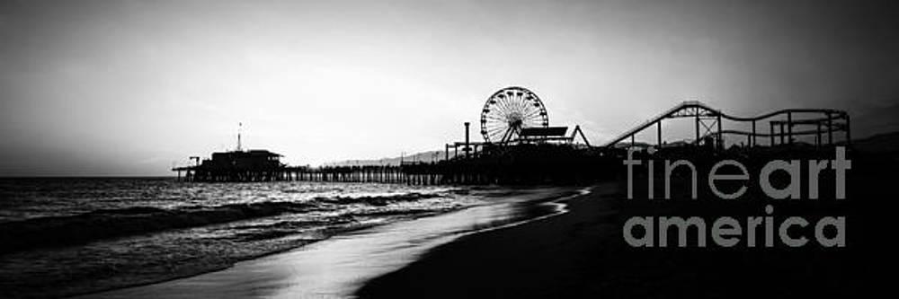 Paul Velgos - Santa Monica Pier Panorama Photo