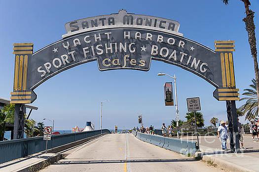 Wingsdomain Art and Photography - Santa Monica Yacht Harbor at Santa Monica Pier in Santa Monica California DSC3665