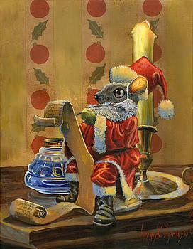 Santa Mouse by Jeff Brimley