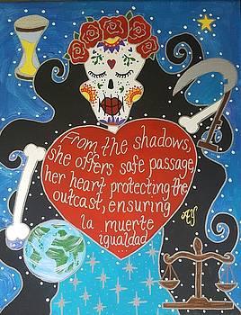 Santa Muerte by Angela Yarber