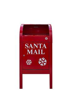 Santa Red Mail Box by David Gn