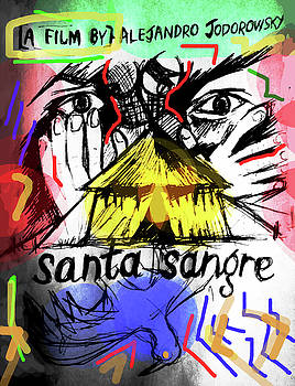 Santa Sangre 2 Poster  by Paul Sutcliffe