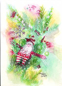 Santa Toy by Lynn Takacs