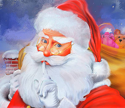 Santa's Coming Soon by Mary Timman