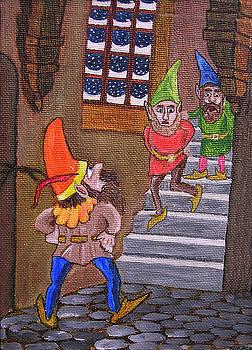 Santa's Elves In Trouble by Gordon Wendling