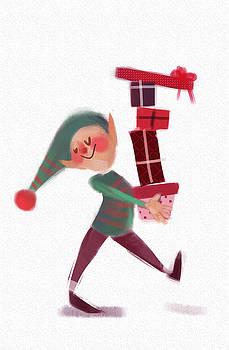 Santa's Helper by Agata Szargot