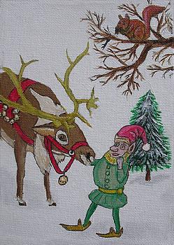 Santa's Helper Elves by Gordon Wendling