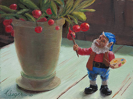 Santa's Helper by Katherine Seger