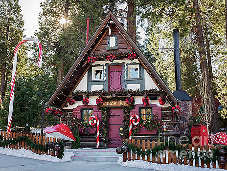 Santa's House by Eddie Yerkish