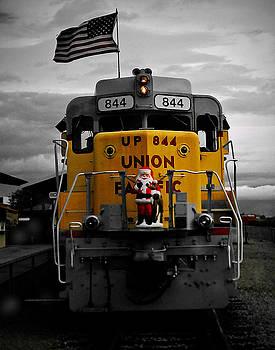 Santa's Locomotive by Ron Dubin