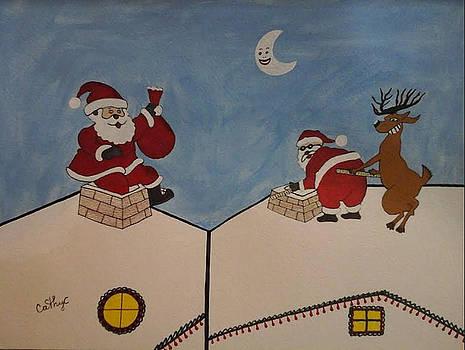 Santa's too fat by Catherine Velardo