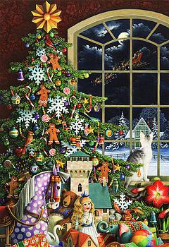 Santa's Visit by Lynn Bywaters