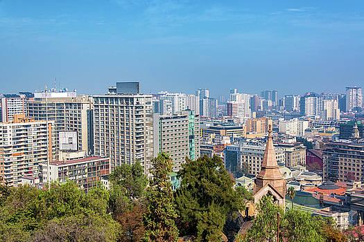 Santiago, Chile Buildings by Jess Kraft