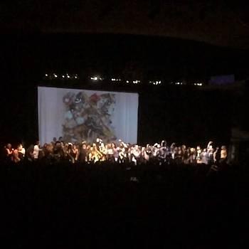 #santigold #hollywoodpalladium #encore by Claudia Garcia Trejo