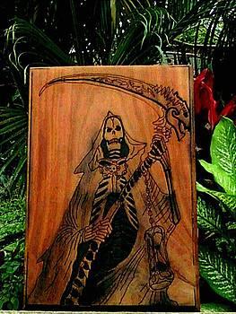 Santisima Muerte by Calixto Gonzalez