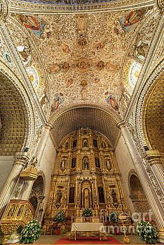 Santo Domingo Church Interior by Jess Kraft