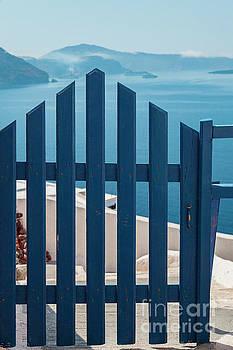 Sophie McAulay - Santorini blue gate
