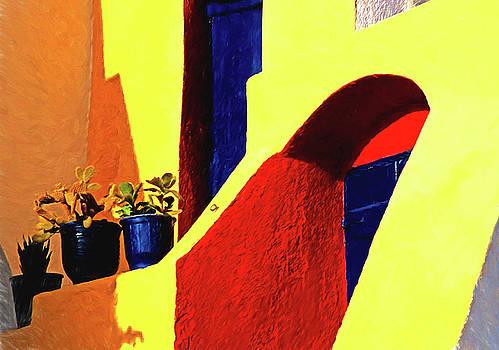 Santorini Color by Dennis Cox Photo Explorer