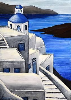 Santorini Greece 4 by Dimitra Papageorgiou