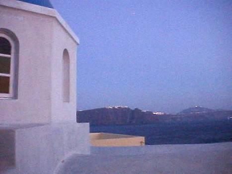 Santorini Island in Greece by Martha Ayotte