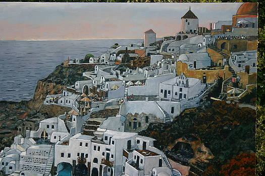 Santorini by Joe Jaqua