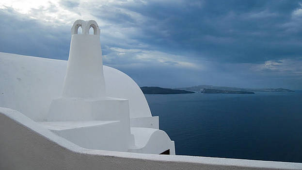 Santorini by Mary Pat Collins