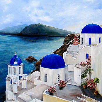Santorini by Patricia DeHart