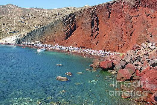 Teresa Zieba - Santorini Red Beach