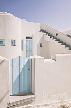 Sophie McAulay - Santorini white house