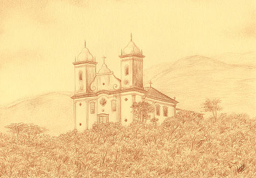 Sao Francisco de Paula church by Enaile D Siffert