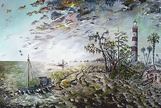 Sapelo Island by Richard Barham