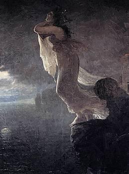 Sappho At Leucate 1801 by Gros AntoineJean
