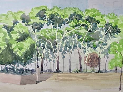 Sara D Roosevelt Park  by Bethany Lee