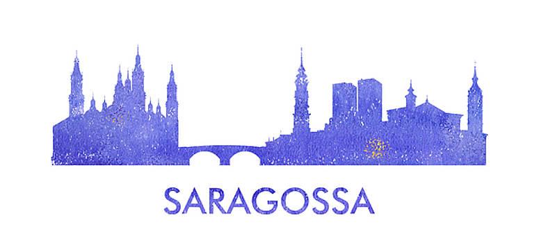 Vyacheslav IsaevSaragossa city purple skyline - Saragossa city purple skyline